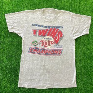 Vintage Minnesota Twins Shirt 1991 World Series M